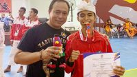Bali juara umum cabor tarung derajat Popnas 2019