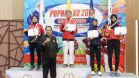 taekwondoin Bali raih emas di Popnas 2019
