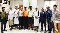 audiensi PBSI ke KONI Bali