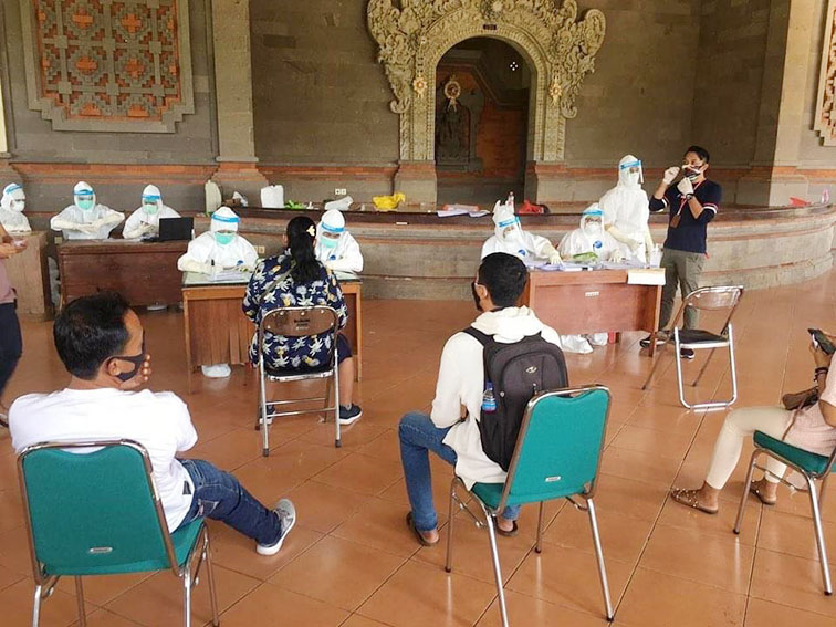 Koordinator Bidang Pencegahan Satgas Covid-19 Kabupaten Badung, I Gusti Agung Alit Naya