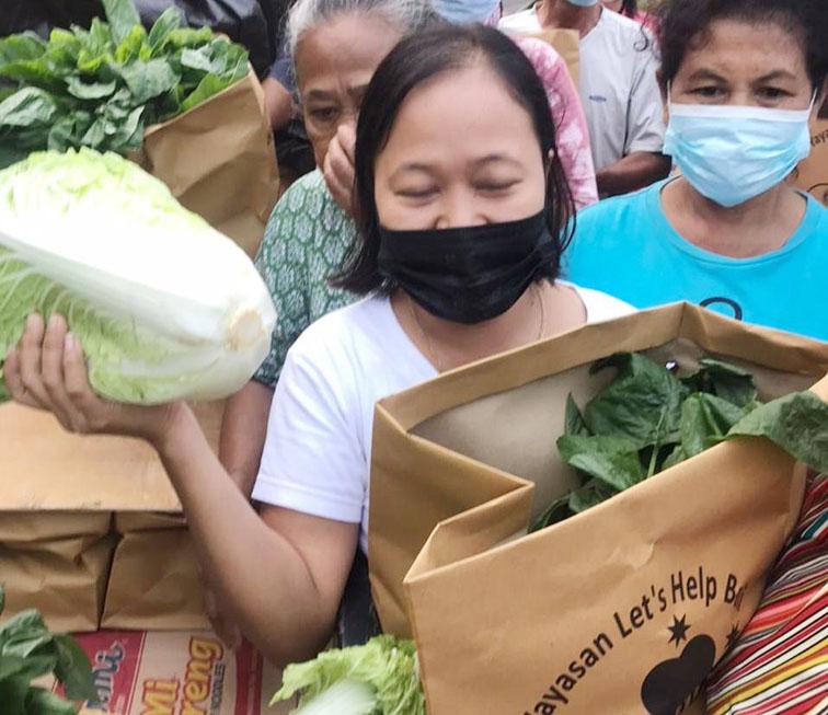 paket sayuran